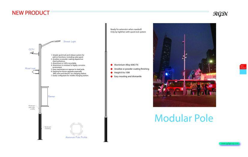 Modular pole1