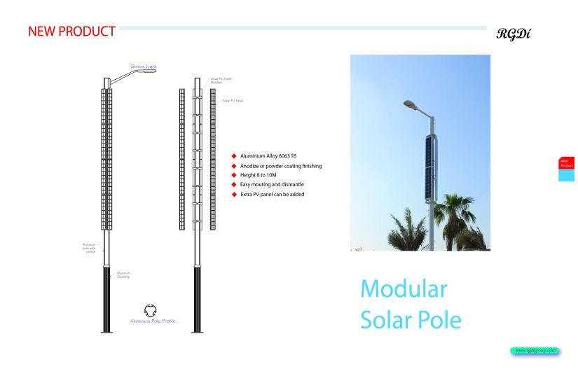 Modular pole2